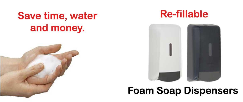 foaming soap or hand sanitizer dispensers - Foam Soap Dispenser